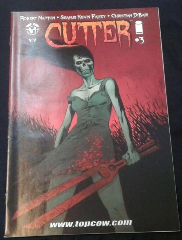 Cutter #3 Comic Book 2014 - Image. 9.2 NM-!