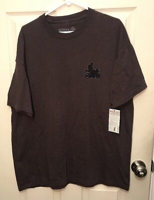 "Mountain Life Mens Size XL Brown T Shirt New ""the Best Gears Of Your"