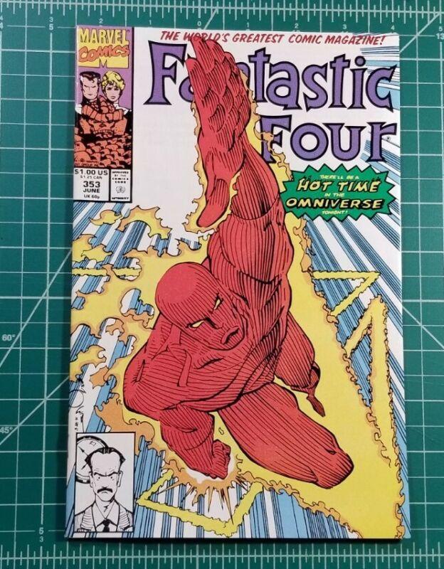 FANTASTIC FOUR #353 Marvel Comics NM+ 1st App Mr. Morbius TVA Owen Wilson! Loki
