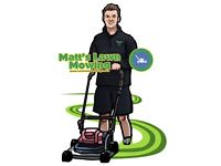 Matt's Lawn Mowing (check areas first)