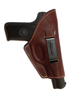 IWB gun holster Zastava M57 M88, TT Tokarev, genuine leather, suede inner for sale  Shipping to United States