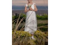 Age 9 Ivory Monsoon Flower girl dress