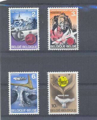 BELGIUM 1968 HISTORICAL SET  MNH**  1448/51