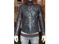 Allsaints Leather Jacket, Large