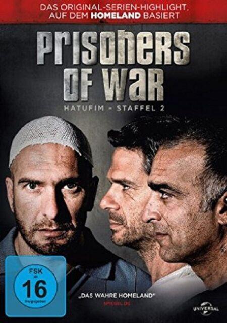 PRISONERS OF WAR-HATUFIM-STAFFEL 2 3DVD NEU