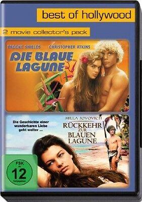 2 DVDs * Die blaue Lagune + Rückkehr zur blauen Lagune * NEU OVP * 2 Filme