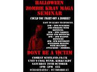 Halloween Zombie Krav Maga Seminar