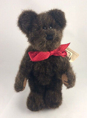 "8.5"" Boyds Bears Plush SUTTON Archive Collection Jointed Teddy"