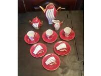 15 x miniature coffee set