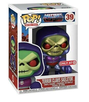 Funko POP Masters of the Universe Skeletor w/Terror Claws Target Ex P/O METALLIC