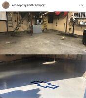 Elite Epoxy Flooring and Transport