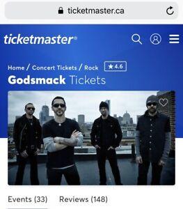 Godsmack/volbeat concert