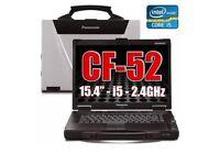 Panasonic toughbook CF 52 Core i5 4GB Ram was 60GB hdd won 7 mkr3