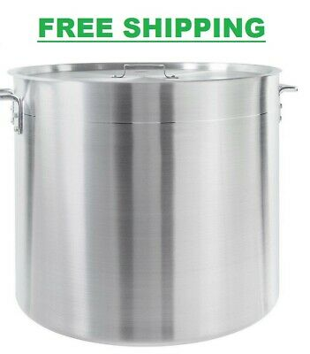100 Qt Heavy Duty 4mm Aluminum Stock Pot Lid Commercial Nsf Soup Brewing Kettle
