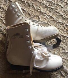 Girls figure skates - Size 12