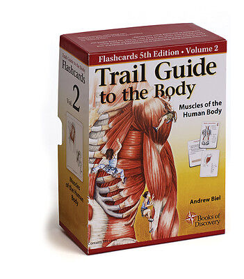 Trail Guide Anatomy & Palpation Flash Card Pack V2 Muscle...