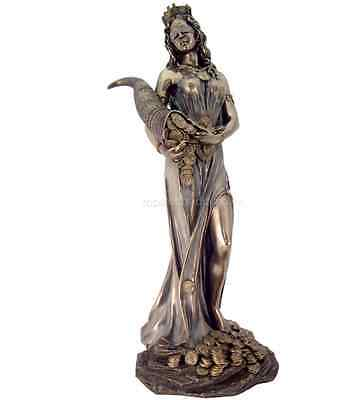 Large Fortuna Roman Goddess Of Luck  Fate  And Fortune Statue     Well Made