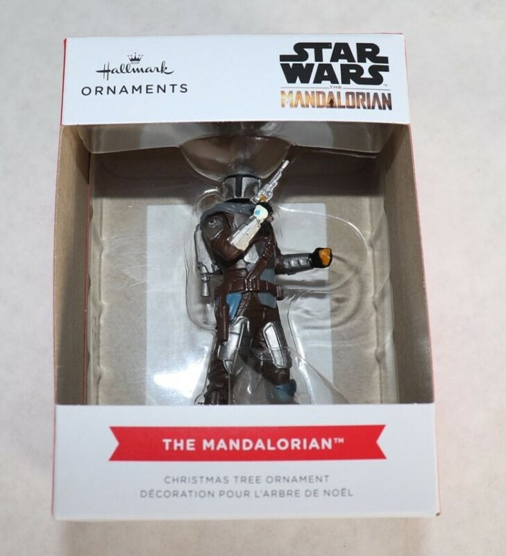 2021 Hallmark Star Wars The Mandalorian Ornament New