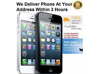 iphone 5 16GB UNLOCK FREE DElivery option