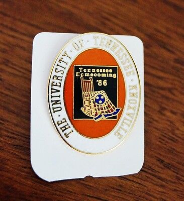 1986 University of Tennessee Knoxville Homecoming Enameled Pin