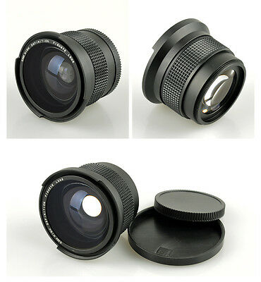 58MM 0.35x Fisheye Wide Angle Lens with Macro for Canon 650D 750D 60D 70D 550D