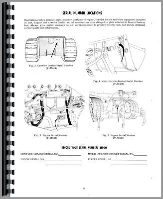 Allis Chalmers Hd7g Crawler Operators Manual