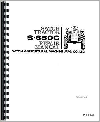 Satoh S650g Tractor Service Repair Manual