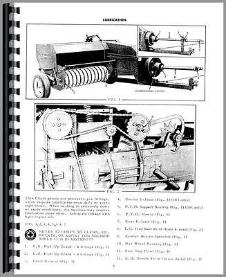 Allis Chalmers Baler Operators Manual 302 Baler 303 Baler  Ac-o-302 Blr