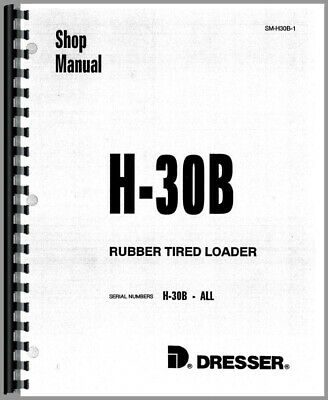 Hough H-30b Pay Loader Chassis Service Repair Manual