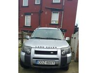 LEFT HAND DRIVE LAND ROVER FREELANDER 4X4