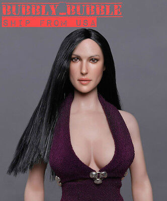 1//6 Female pâle Head Sculpt American European CT008A for Phicen Hot Toys ❶ USA ❶