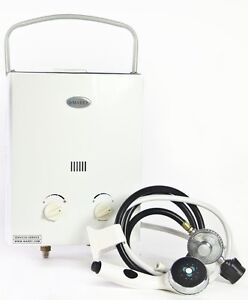 Marey  RV/Camper Mini Portable Propane Gas Tankless Water Heater 2.0 GPM