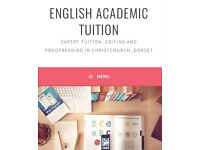 English Tutor (Literature & Language) GCSE, A Level, 11+, university...