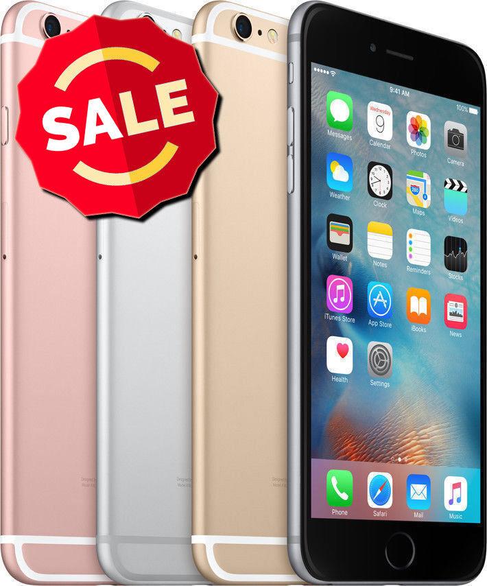 Apple iPhone 6 GSM Unlocked AT&T T-Mobile Verizon 16GB 32GB 64GB 128GB Smartphon