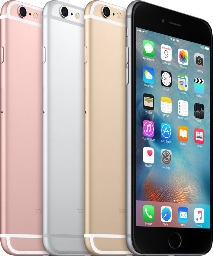 $329.88 - Apple iPhone 6s Plus - 64GB (GSM Unlocked) Smartphone - Silver Gray Rose Gold