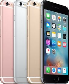 ****APPLE I PHONE 6S 64GB UNLOCKED TO ALL NETWORKS COMES WITH APPLE WARRANTY****