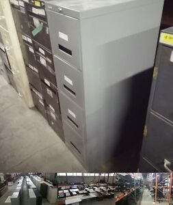 Admiral 4 Drawer Vertical Filing Cabinet