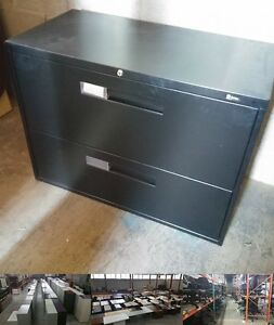 Global 2 Drawer Lateral Filing Cabinet