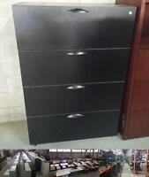Wooden 4 Drawer Wooden Lateral Filing Cabinet
