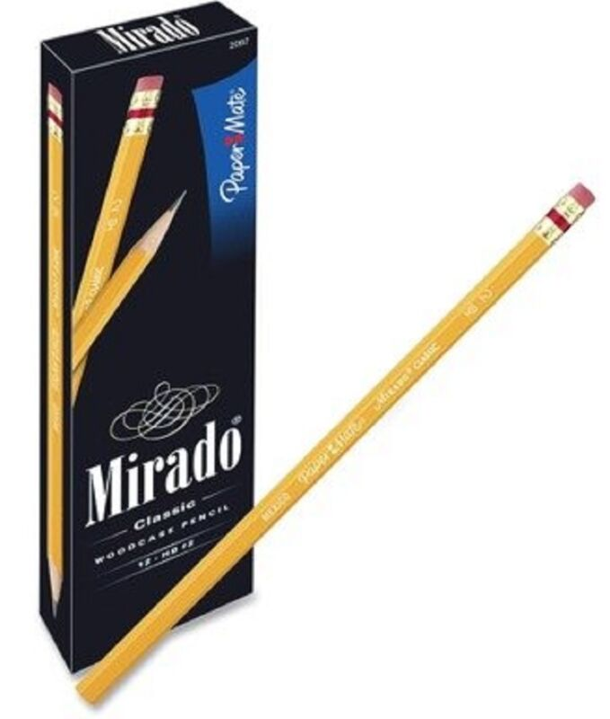 Papermate Mirado #2 Premium Pencil  # 2097  6 Dozen