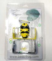 Top Water Rana Black Bass Luccio Bass Frog Colore Black Yellow -  - ebay.it