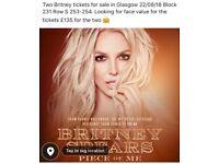 Britney Tickets 22/08/18