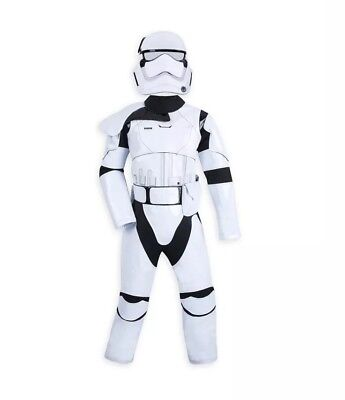 Disney Parks Star Wars Boys Storm Trooper Outfit Halloween Costume (Stormtrooper Outfits)