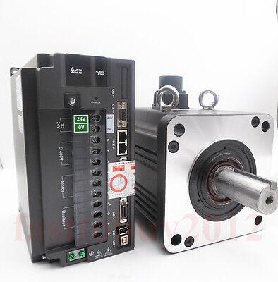 Delta 4.5kw Ac Servo Motor Drive Controller Kit 400v 1500rmin 28.65nm Keyway
