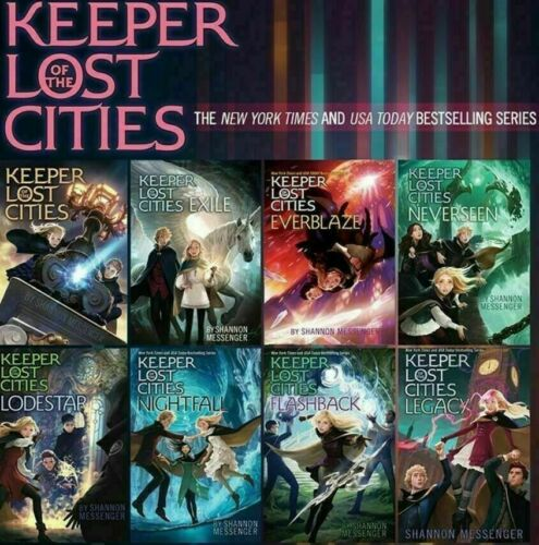 Keeper of the Lost Cities (1-8 ) by: Shannon Messenger (Digital Edition)