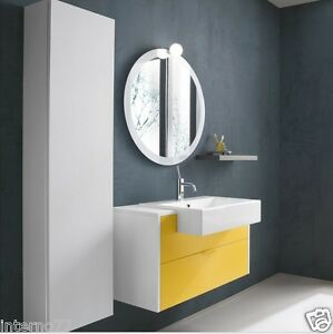Mobile da bagno moderno kondor kn25 12 colonna armadio for Colonna armadio bagno