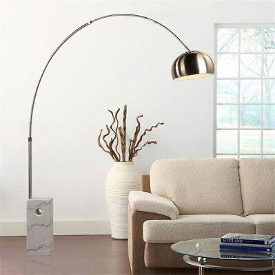 Arco Floor Lamp Marble Base Light Adjustable Office Living Room Christmas Gift Base Arco Floor Lamp
