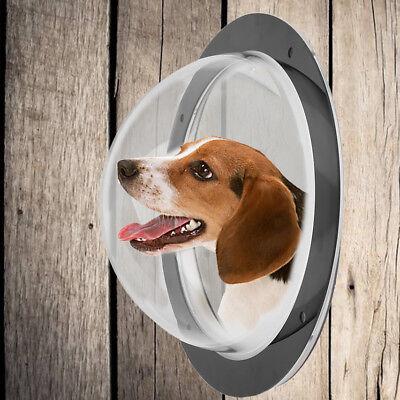New Pet Fence Peek Window   Acrylic Dome Window Porthole For Pet Dog Cat