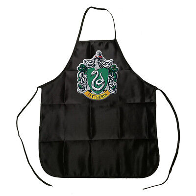 Harry Potter Slytherin College Apron BBQ Cooking Cleaning Kitchen Apron Gift