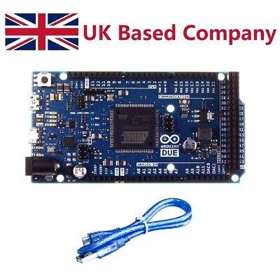 Arduino Due R3 Compatible Board Sam3x8e 32-bit Arm Cortex-m3 With Usb Cable